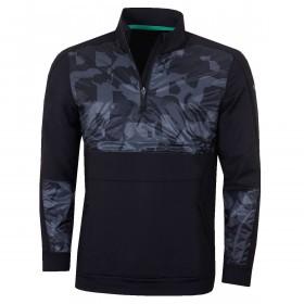 Puma Golf Mens 2019 Union Camo 1/4 Zip Sweater