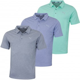 Puma Golf Mens Grill To Green Polo Shirt
