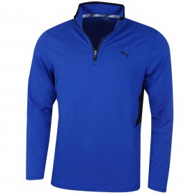 Puma Golf Mens 2019 Rotation 1/4 Zip Sweater