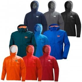 Helly Hansen Mens Seven J Waterproof Rain Jacket