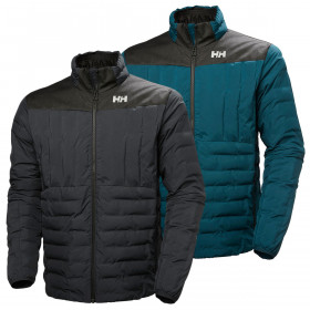 Helly Hansen Mens Ranver Quilted Insulated Lightweight Breathable Jacket