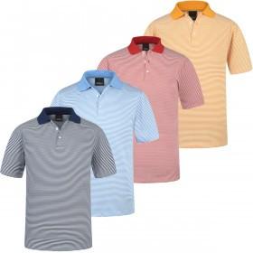 Oscar Jacobson Mens Alwin Performance Tech Golf Polo Shirt