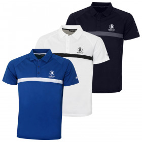 Abacus Mens Mens Leven Golf Polo Shirt