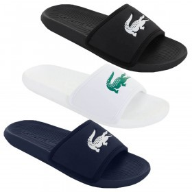 Lacoste Mens Croco Slide 119 3 CMA Flip Flops