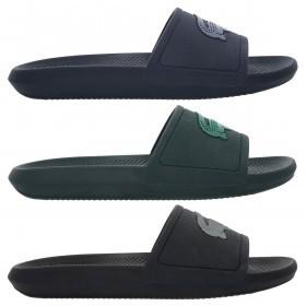 Lacoste Mens 2019 Croco Slide 319 1 CMA Slides Flip Flops