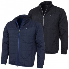 Oscar Jacobson Mens Brick Padded Golf Jacket