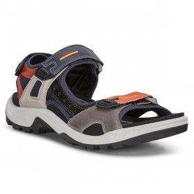 Ecco Mens 2020 Offroad M Yak Leather Adjustable Molded Footbed Sandals