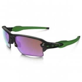 Oakley Sports Mens Flak 2.0 XL Prizm Golf Sunglasses - Polished Black