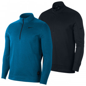 Nike Mens Therma Repel Warm Water Repellent Golf Pullover 1/2 Zip Sweater