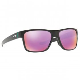 Oakley Sport Crossrange Golf Sunglasses - Polished Black/Prizm Golf