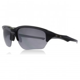 Oakley Sport Flak Beta Sunglasses - Polished Black/Black Iridium