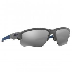 Oakley Sport Flak Draft Sunglasses - Matte Dark Grey/Black Iridium