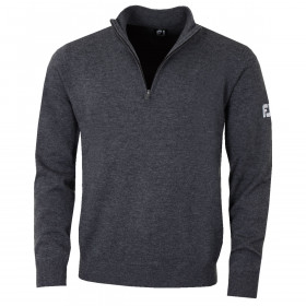 Footjoy Mens Lambswool 1/2 Zip Lightweight Pullover Golf Sweater