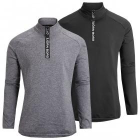 Bjorn Borg Mens Half Zip Polo Alve Sweater