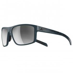 adidas Whipstart Sunglasses - Blue Matte - Grey lenses