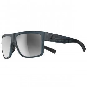 adidas 3Matic Sunglasses - Blue Matt - Chrome Mirror Lenses
