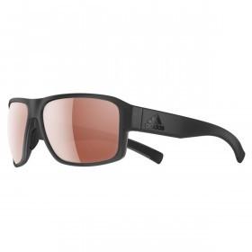 adidas AD20 Jaysor Sunglasses - Coal Matt - LST Active Silver Lenses