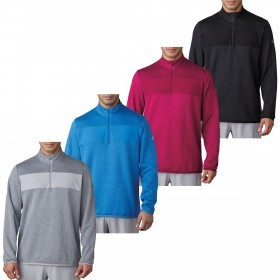 adidas Golf Mens Club Performance 1/4 Zip Pullover