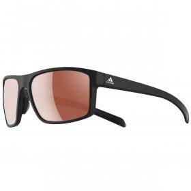 adidas Whipstart Sunglasses - Black Matt - LST active silver lenses