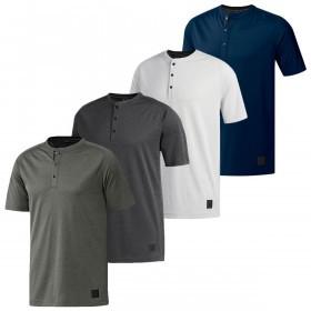 adidas Mens 2019 Adicross No-Show Transition Henley T-Shirt