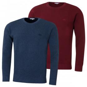 Lacoste Mens 2020 Crew Neck Cotton Pique Sweater