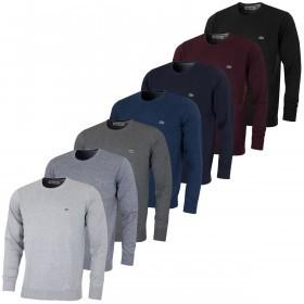 Lacoste Mens AH7371 Crew Neck Sweater