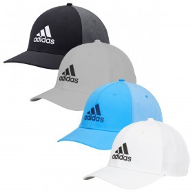 adidas Golf Mens 2019 Adjustable A-Stretch Badge of Sport Tour Cap dfea593187ff