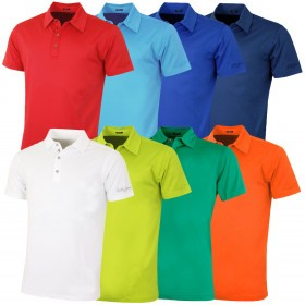 Bobby Jones Mens XH2O Perf Solid Jersey TF Golf Polo Shirt