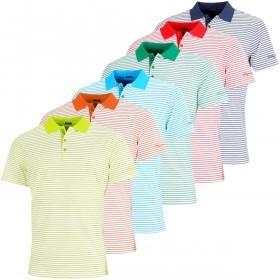 Bobby Jones Mens XH20 Frame Stripe TF Golf Polo Shirt