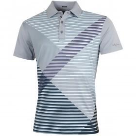 Bobby Jones Mens XH20 Printed Plaid Golf Polo Shirt