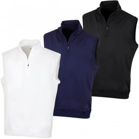 Bobby Jones Mens XH2O Crawford 1/4 Zip Wicking Golf Vest
