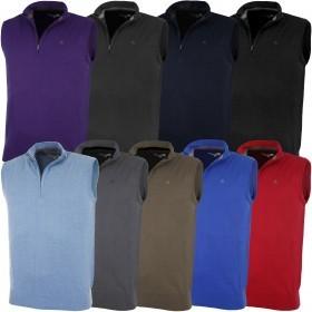 Calvin Klein Golf Mens CK V Neck Sleeveless Sweater Vest