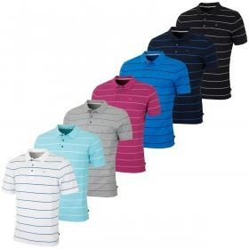 Calvin Klein Golf Mens CK Staten Striped Polo Shirt
