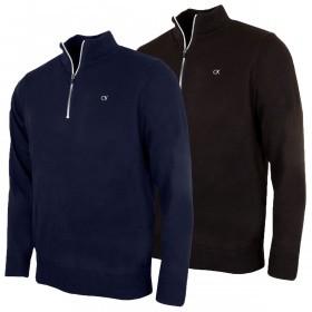 Calvin Klein Golf Mens CK Tech Lined Sweater