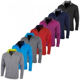 Calvin Klein Golf Mens Galaxy Half Zip Pullover