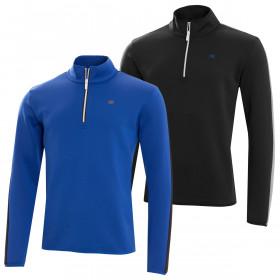 Calvin Klein Golf Mens Verve Half Zip Pullover Top