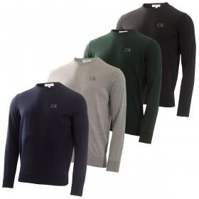 Calvin Klein Mens Liberty Tour Merino Sweater