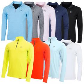 Calvin Klein Mens Newport HZ LS Breathable Lightweight Sweater