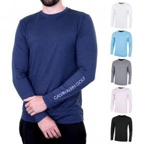 Calvin Klein Golf Mens Brooklyn LS Reflective Long Sleeve Sweater