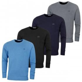 Calvin Klein Golf Mens Round Neck Tour Sweater
