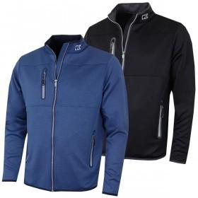Cutter & Buck Mens Montana Full Zip Performance Golf Jacket