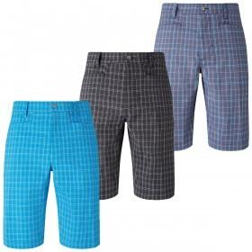 Callaway Golf 2017 Mens Opti-Dri Micro Plaid Golf Shorts