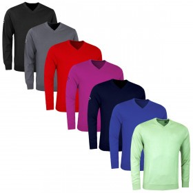 Callaway Mens Golf Ribbed VN Merino Sweater