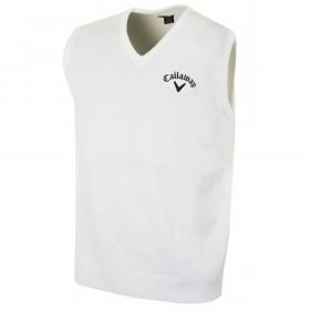 Callaway Golf Mens Tour Logo Merino Wool Slipover