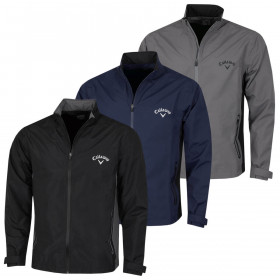 Callaway Golf Mens 2021 Corporate Waterproof Breathable Adjustable Taped Jacket