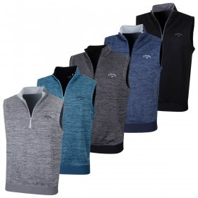 Callaway Golf Mens Water Repellent Fleece Vest