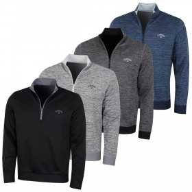 Callaway Golf Mens Water Repellent 1/2 Zip Pullover