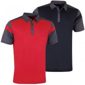 Callaway Golf Mens Chev Blocked Opti-Dri Polo Shirt