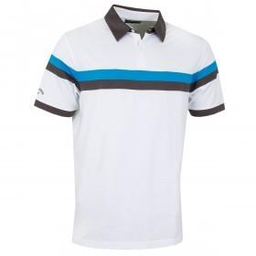 Callaway Golf Mens Two Colour Block Polo Shirt