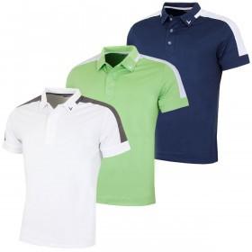 Callaway Golf Mens X Range Shoulder Block Polo Shirt